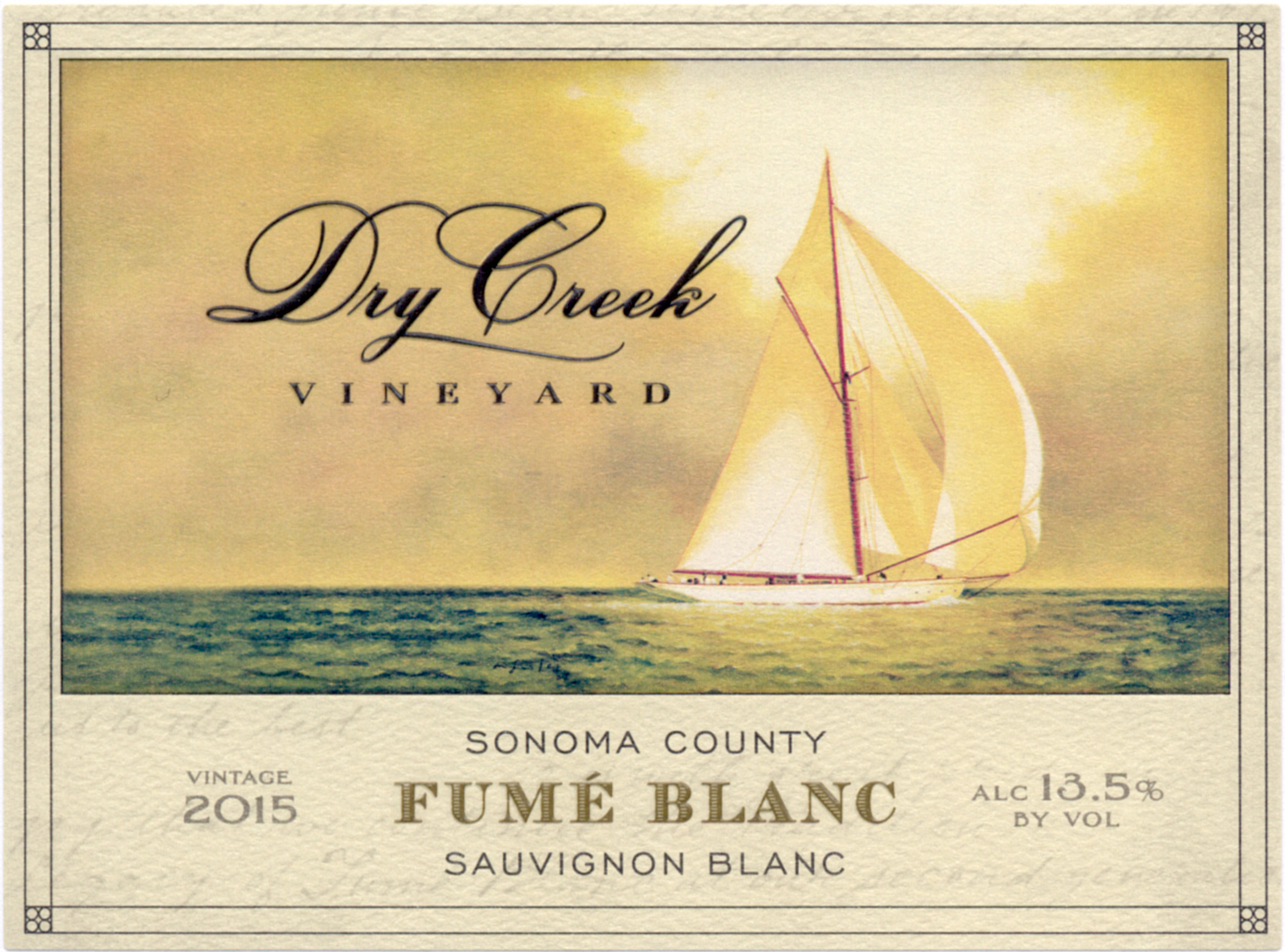 2017 Dry Creek Vineyard Fume Blanc