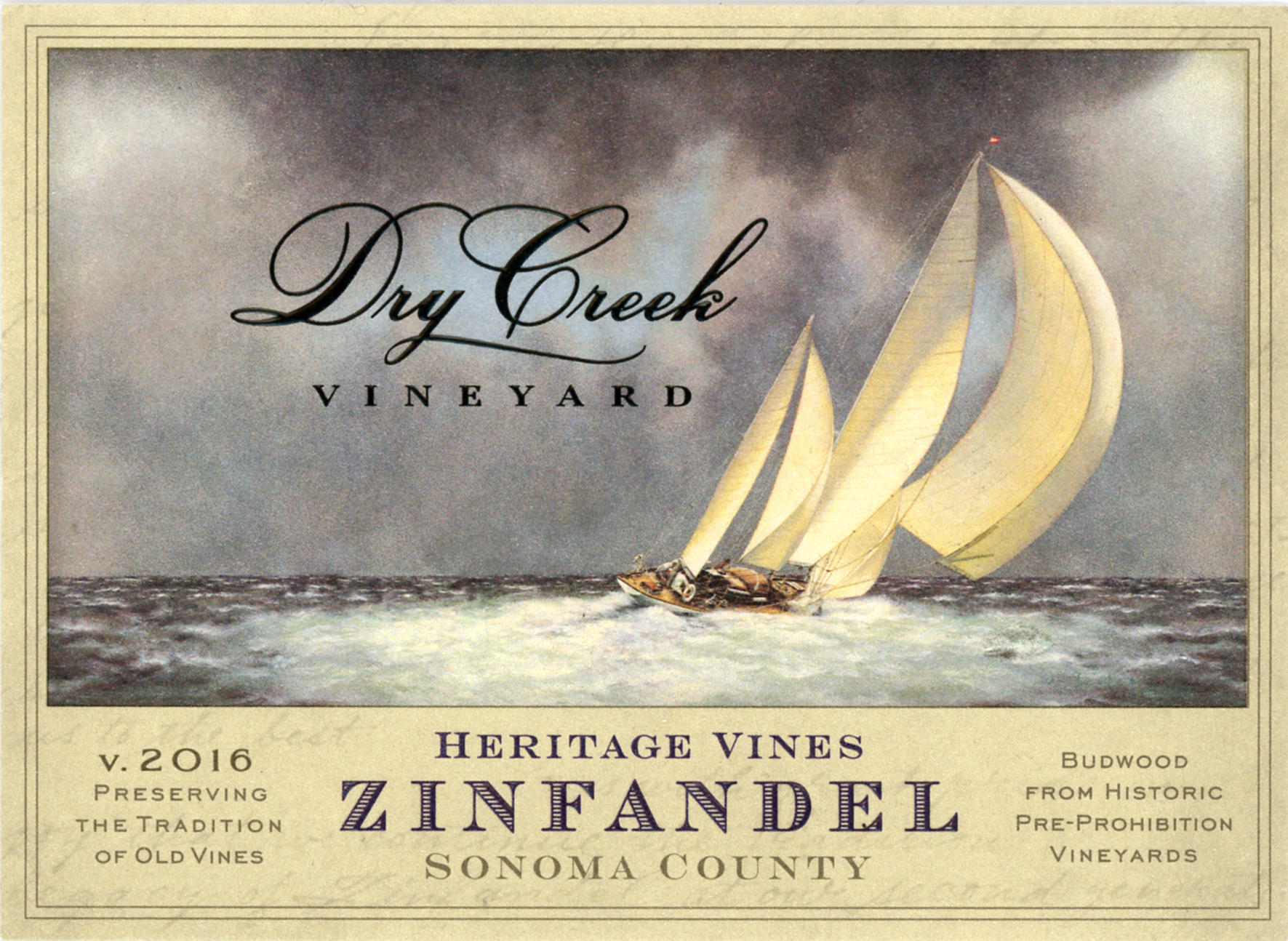 2016 Dry Creek Vineyard Zinfandel Heritage Vines