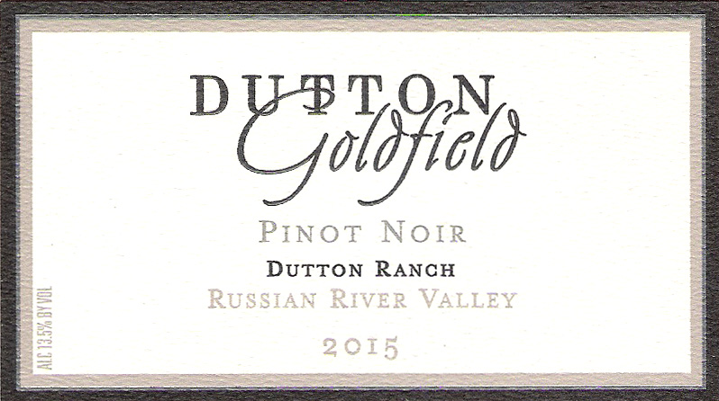 Dutton Goldfield Pinot Noir Dutton Ranch