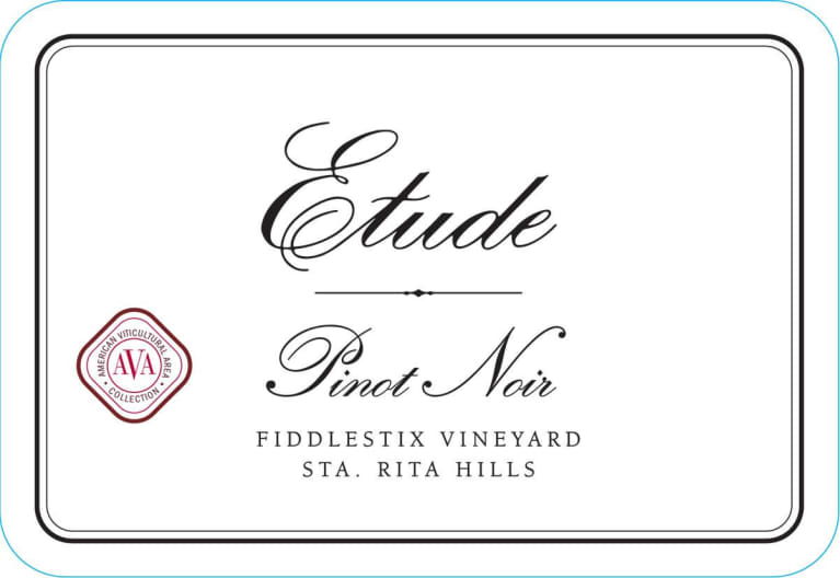 2016 Etude Pinot Noir Fiddlestix Vineyard