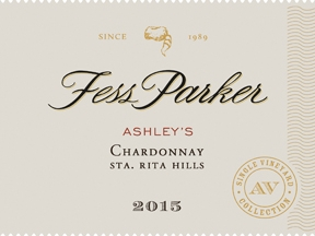 2015 Fess Parker Chardonnay Ashley's Vineyard