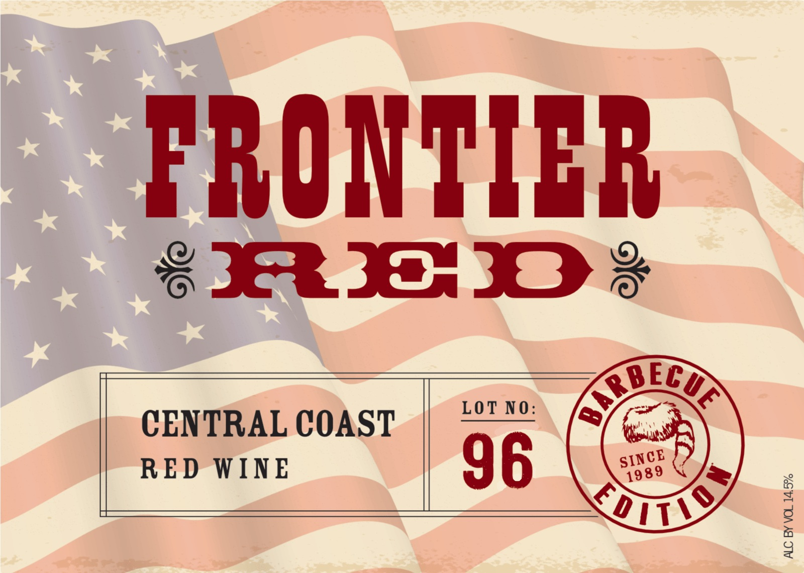 N.V. Fess Parker Frontier Red Blend Lot #96