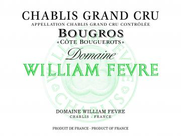 Domaine William Fevre Chablis Bougros Cote de Bouguerots Grand Cru