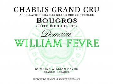 2015 Domaine William Fevre Chablis Bougros Cote de Bouguerots Grand Cru