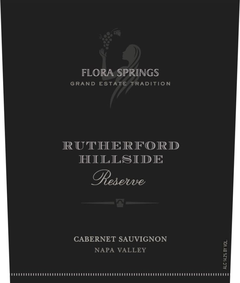 2014 Flora Springs Cabernet Sauvignon Rutherford Hillside Reserve