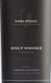Flora Springs Cabernet Sauvignon Holy Smoke Vineyard