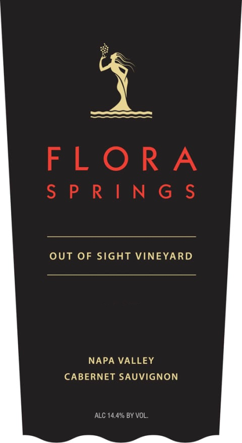 2014 Flora Springs Cabernet Sauvignon Out-of-Sight Vineyard