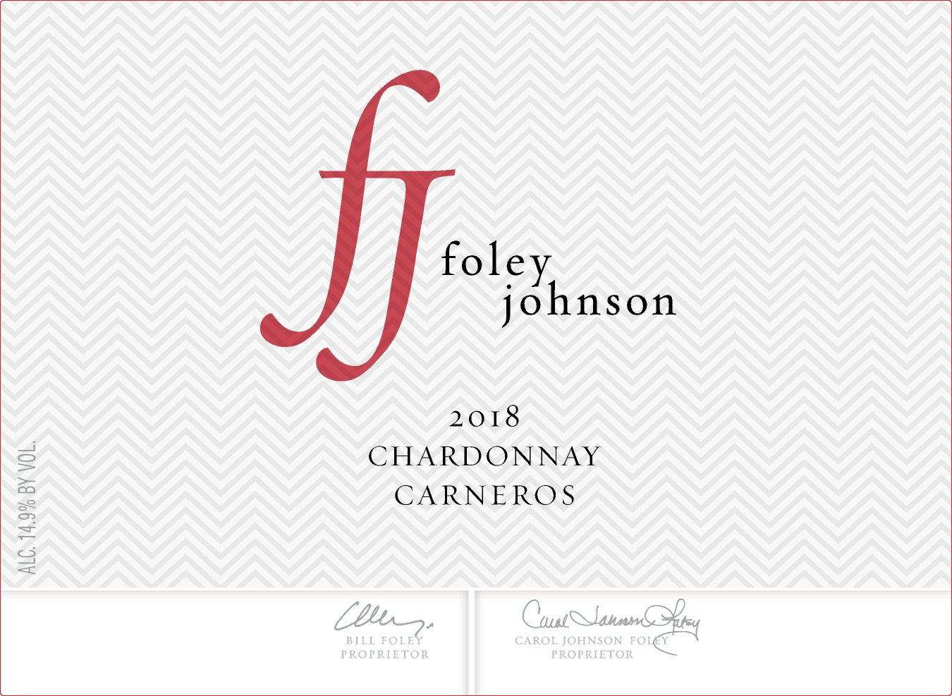 2016 Foley Johnson Chardonnay