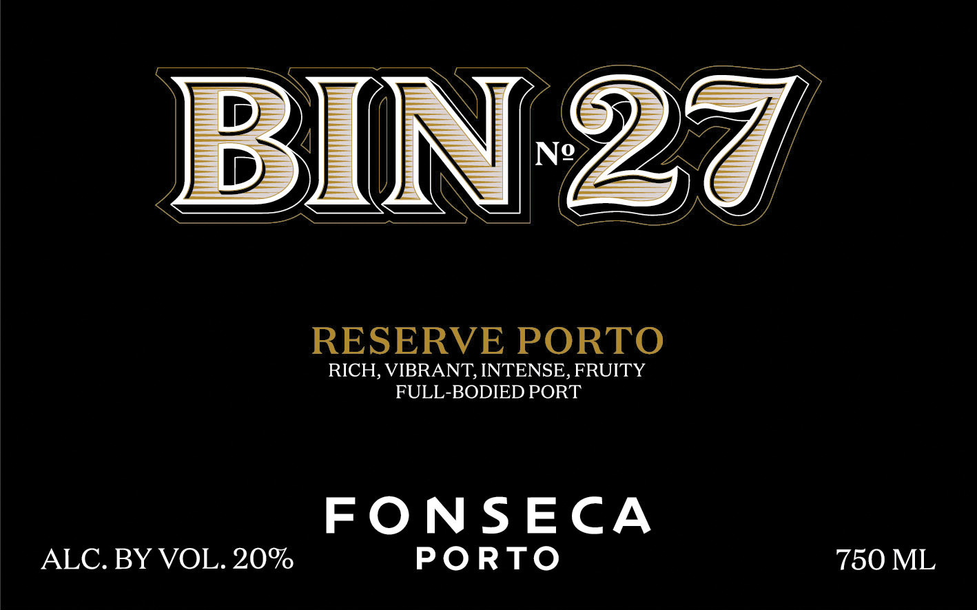 N.V. Fonseca Bin No.27 Finest Reserve Port 375 ml