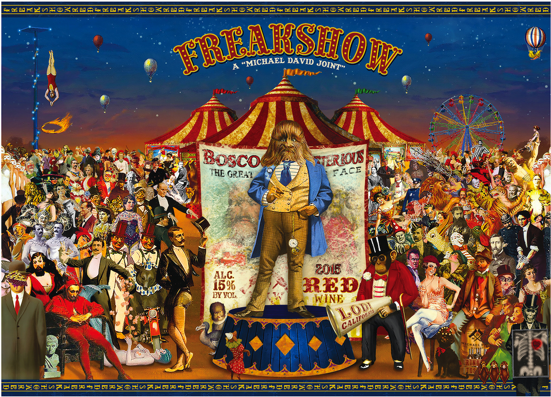 2015 Michael David Red Blend Freakshow