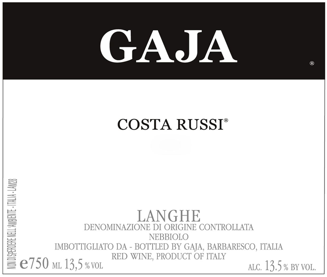 Gaja Barbaresco Costa Russi