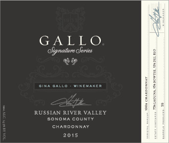 2015 Gallo Chardonnay Signature Series