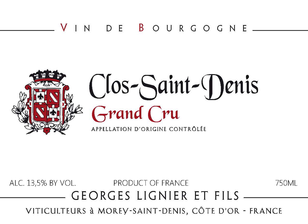 Georges Lignier Clos-Saint-Denis Grand Cru