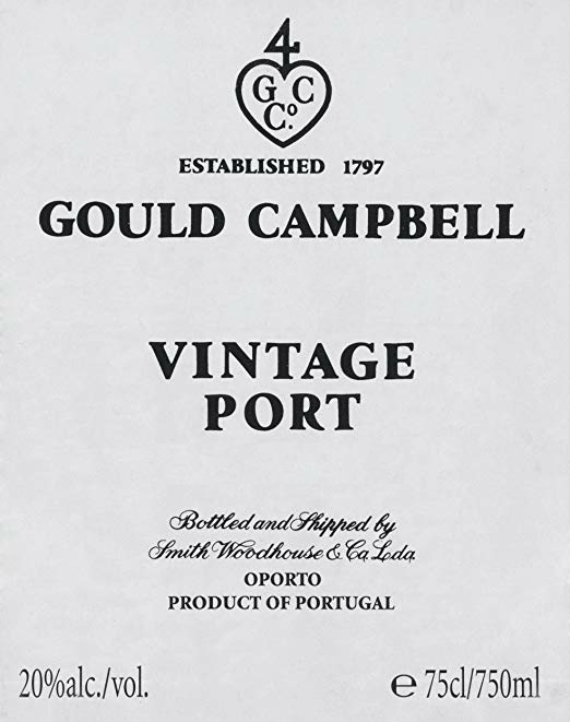 Gould Campbell Vintage Porto