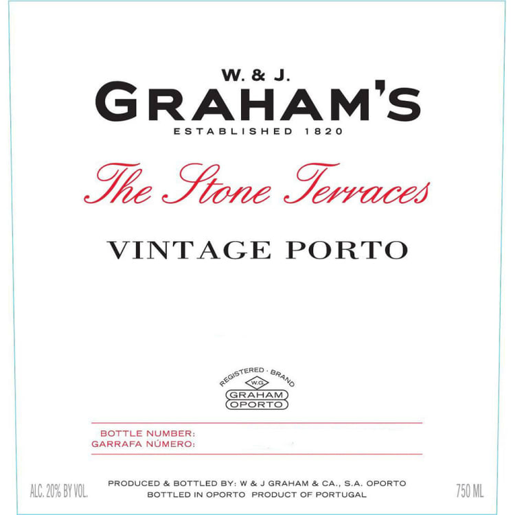 2017 Graham's Vintage The Stone Terraces Porto