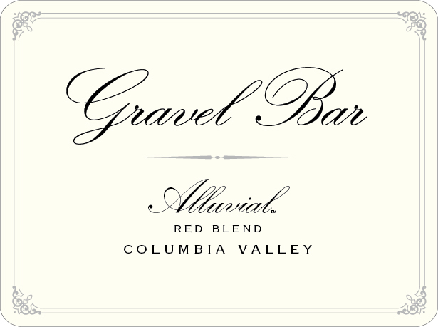 2014 Gravel Bar Alluvial Red Blend