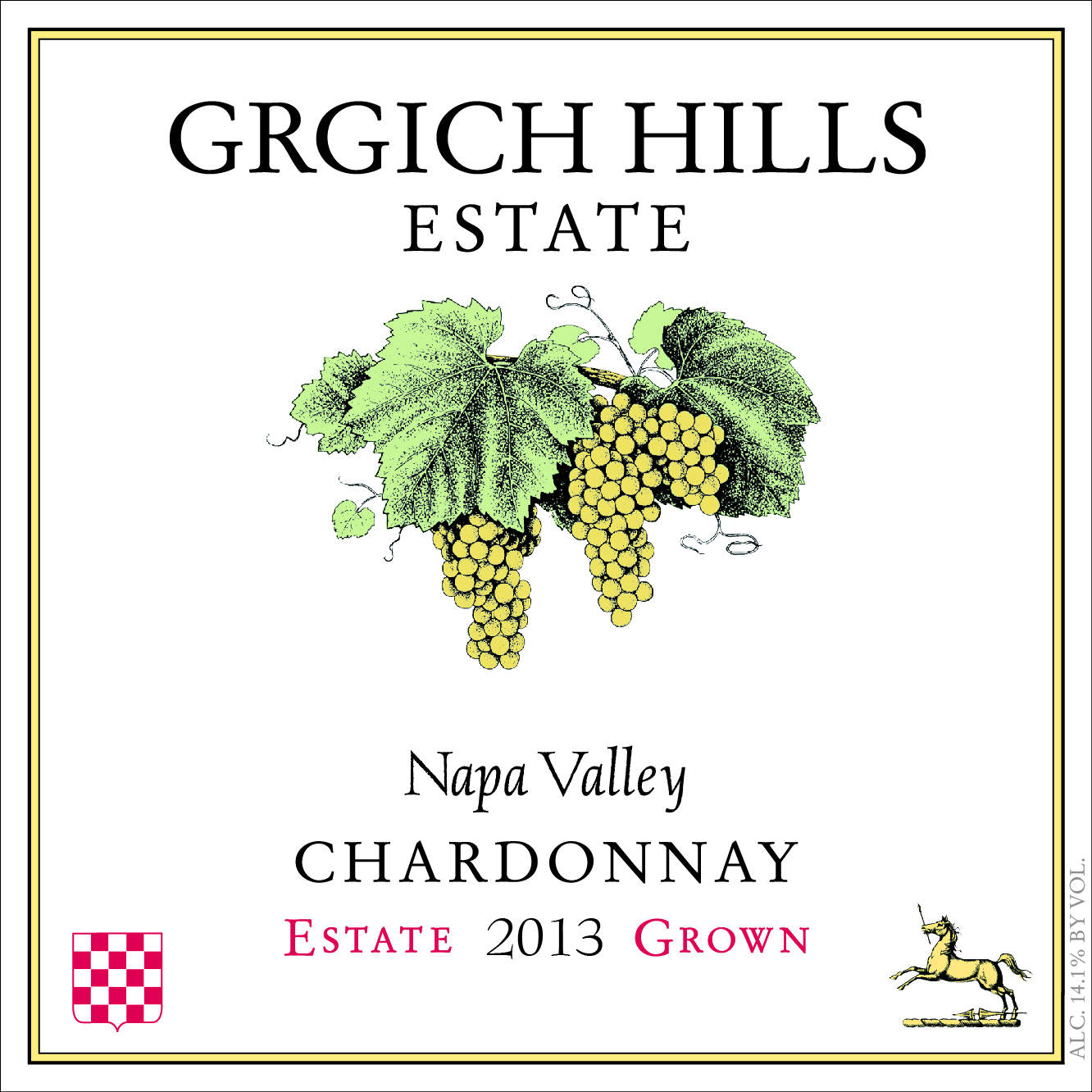 2013 Grgich Hills Chardonnay Estate Grown