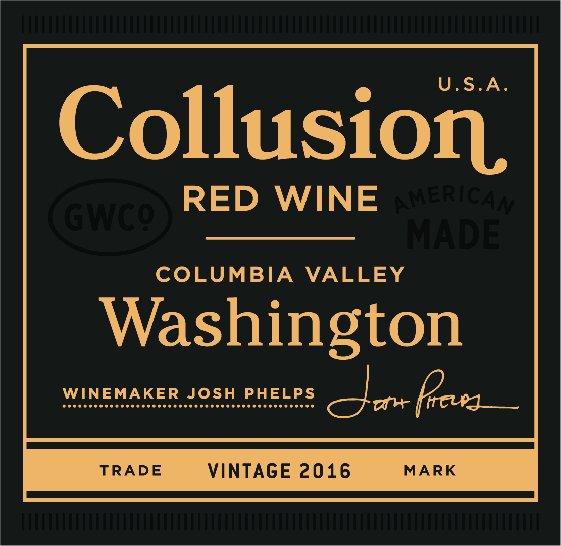 2016 Grounded Wine Co. Collusion Red Blend