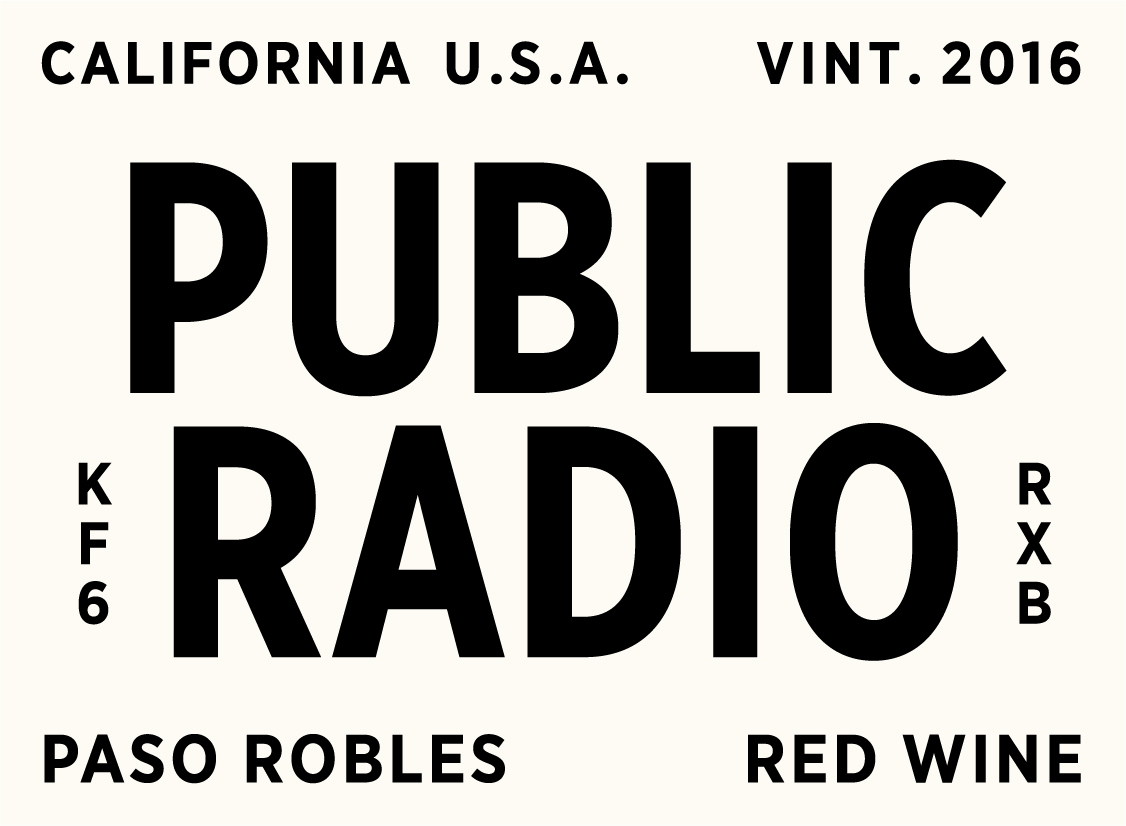 Grounded Wine Co. Public Radio Red Blend
