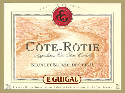Guigal Cote-Rotie Brune et Blonde
