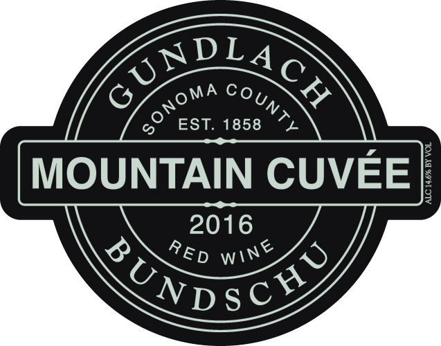2016 Gundlach Bundschu Mountain Cuvee Red Blend