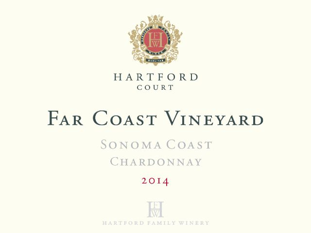 Hartford Court Chardonnay Far Coast Vineyard
