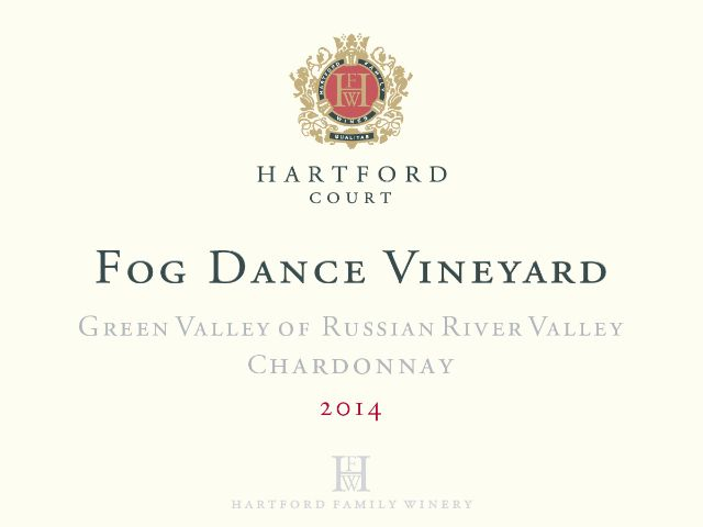 Hartford Court Chardonnay Fog Dance Vineyard