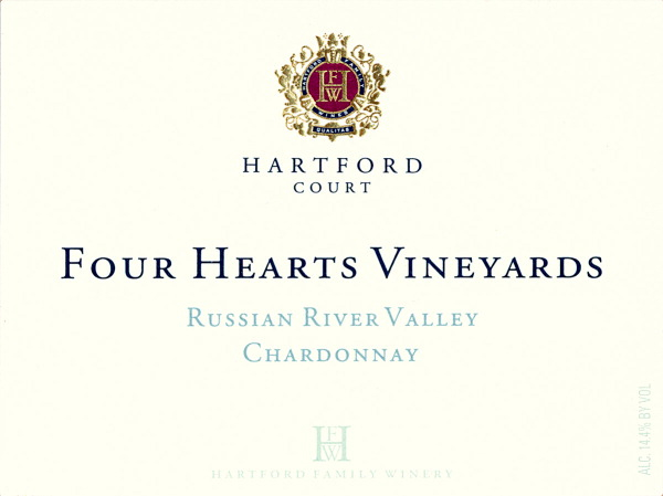 2018 Hartford Court Chardonnay Four Hearts Vineyard