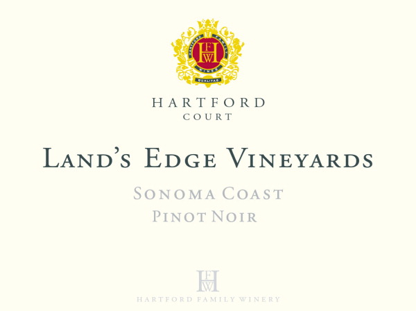 2014 Hartford Court Pinot Noir Land's Edge Vineyard