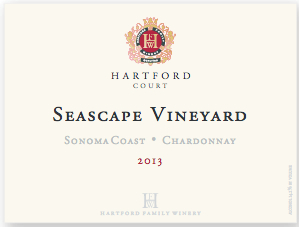 2013 Hartford Court Chardonnay Seascape Vineyard