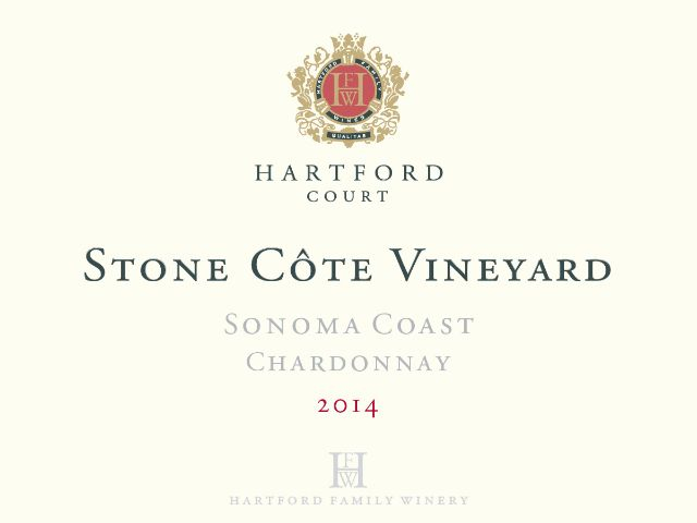 Hartford Court Chardonnay Stone Cote Vineyard