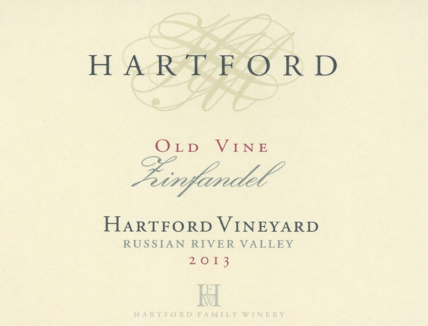 2013 Hartford Zinfandel Estate Vineyard