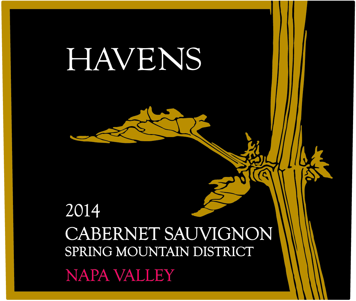 2013 Haven's Cabernet Sauvignon Spring Mountain
