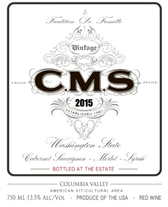 2015 Hedges Family Estate C.M.S. Red Blend