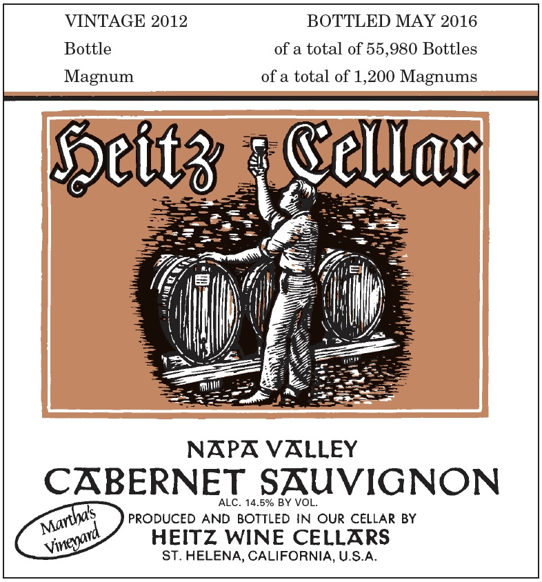Heitz Cellars Cabernet Sauvignon Martha's Vineyard 1.5 L