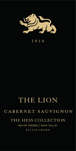 Hess Collection Cabernet Sauvignon Estate The Lion