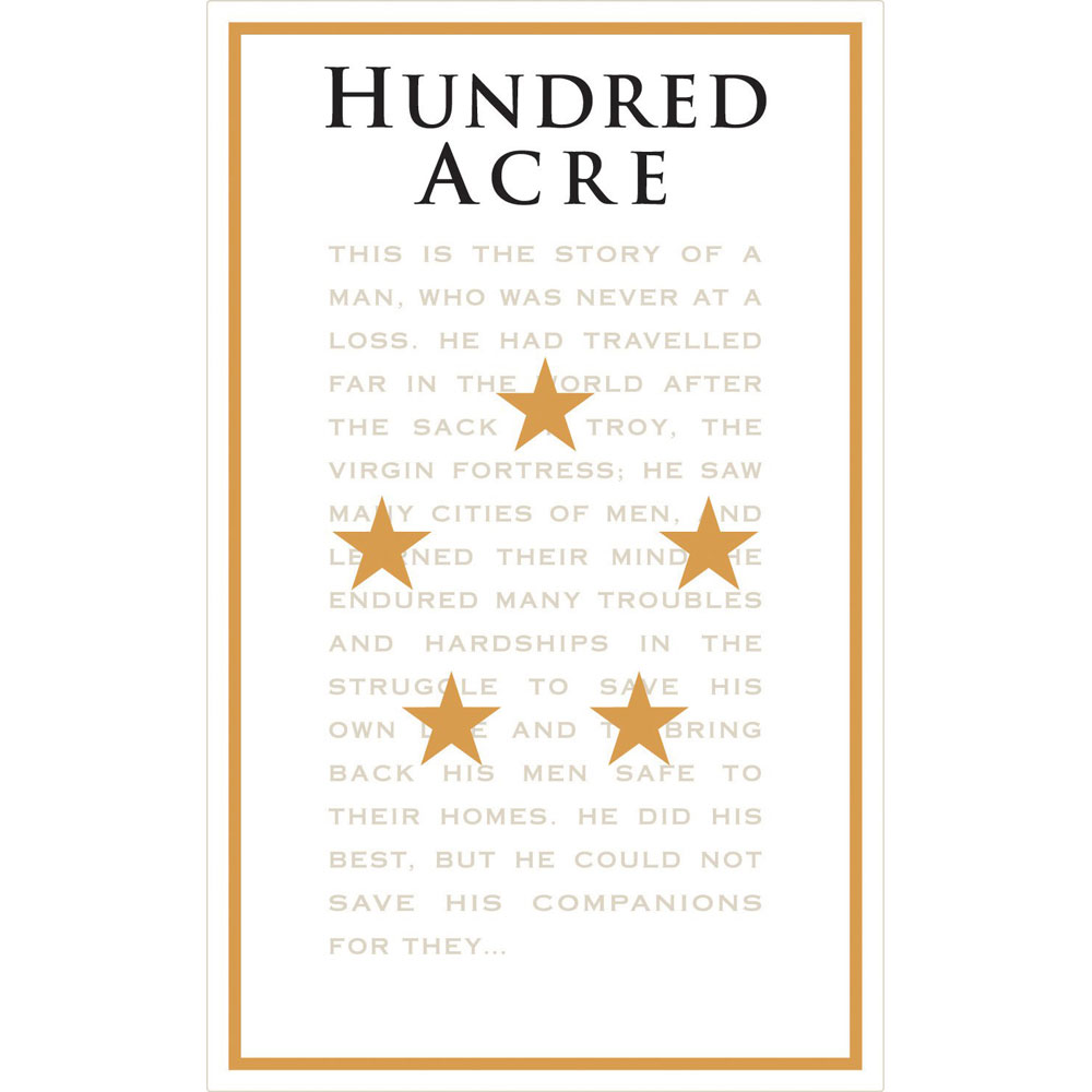 Hundred Acre Cabernet Sauvignon Kayli Morgan Vineyard
