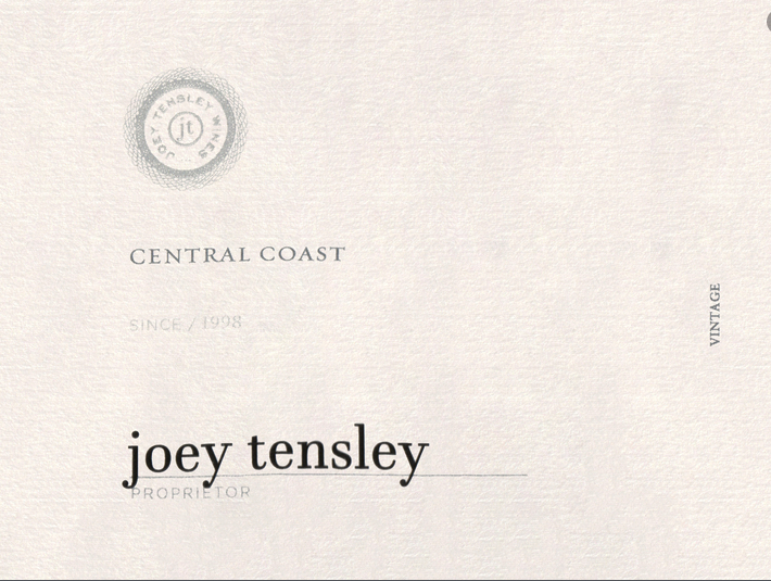 2018 Joey Tensley Fundamental White