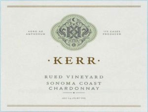 2018 Kerr Cellars Chardonnay Rued Vineyard