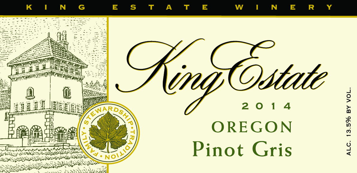 King Estate Pinot Gris Signature Collection
