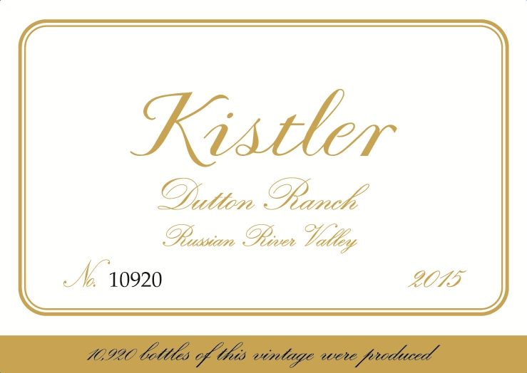 2015 Kistler Chardonnay Dutton Ranch Vineyard