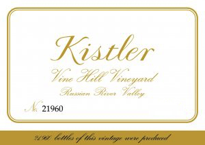 2017 Kistler Chardonnay Vine Hill Road Vineyard
