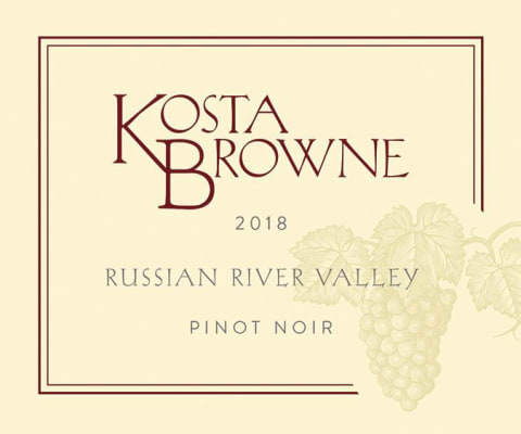 Kosta Brown Pinot Noir Russian River Valley