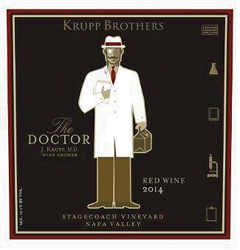 2014 Krupp Brothers The Doctor Proprietary Red