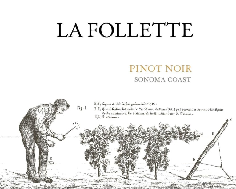 2017 La Follette Pinot Noir Sonoma Coast