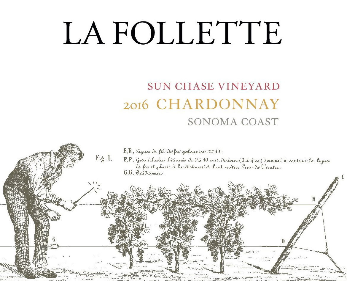 2016 La Follette Chardonnay Sun Chase Vineyard