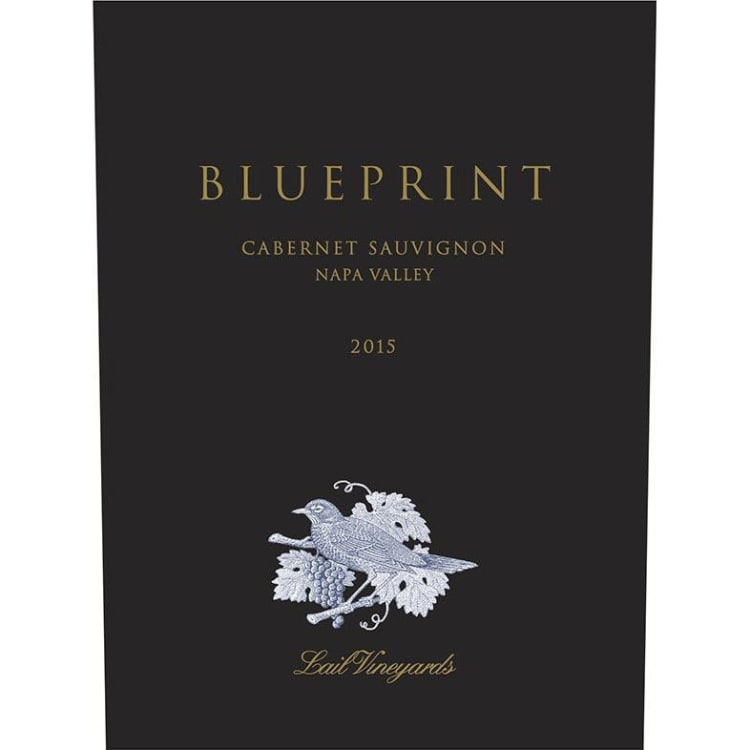 2014 Lail Vineyards Cabernet Sauvignon Blueprint