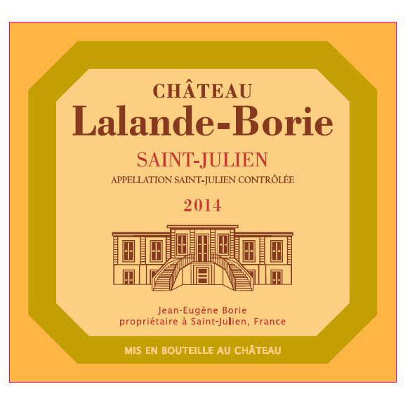 2014 Chateau Lalande-Borie 375 ml