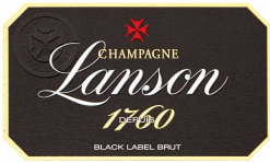 N.V. Lanson Brut Black Label 1760 in Music Box