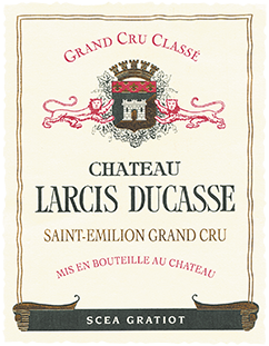 Chateau Larcis Ducasse 375 ml